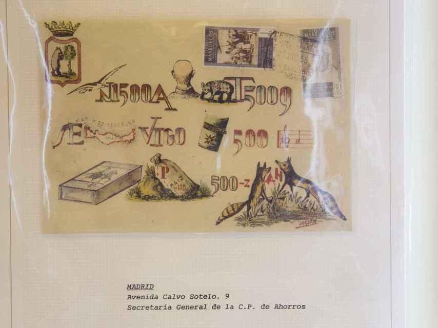 Ejemplo de carta jeroglífica.