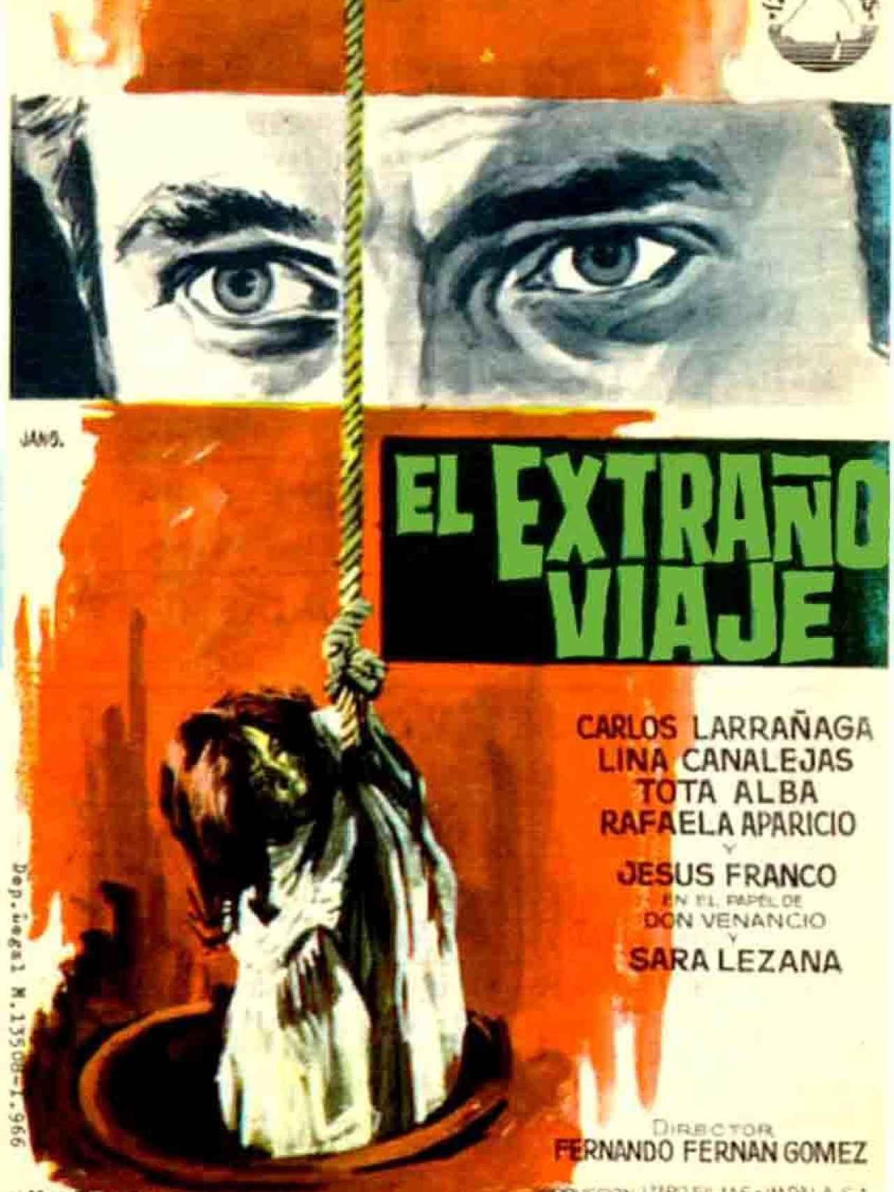 El extraño viaje es una película española de 1964