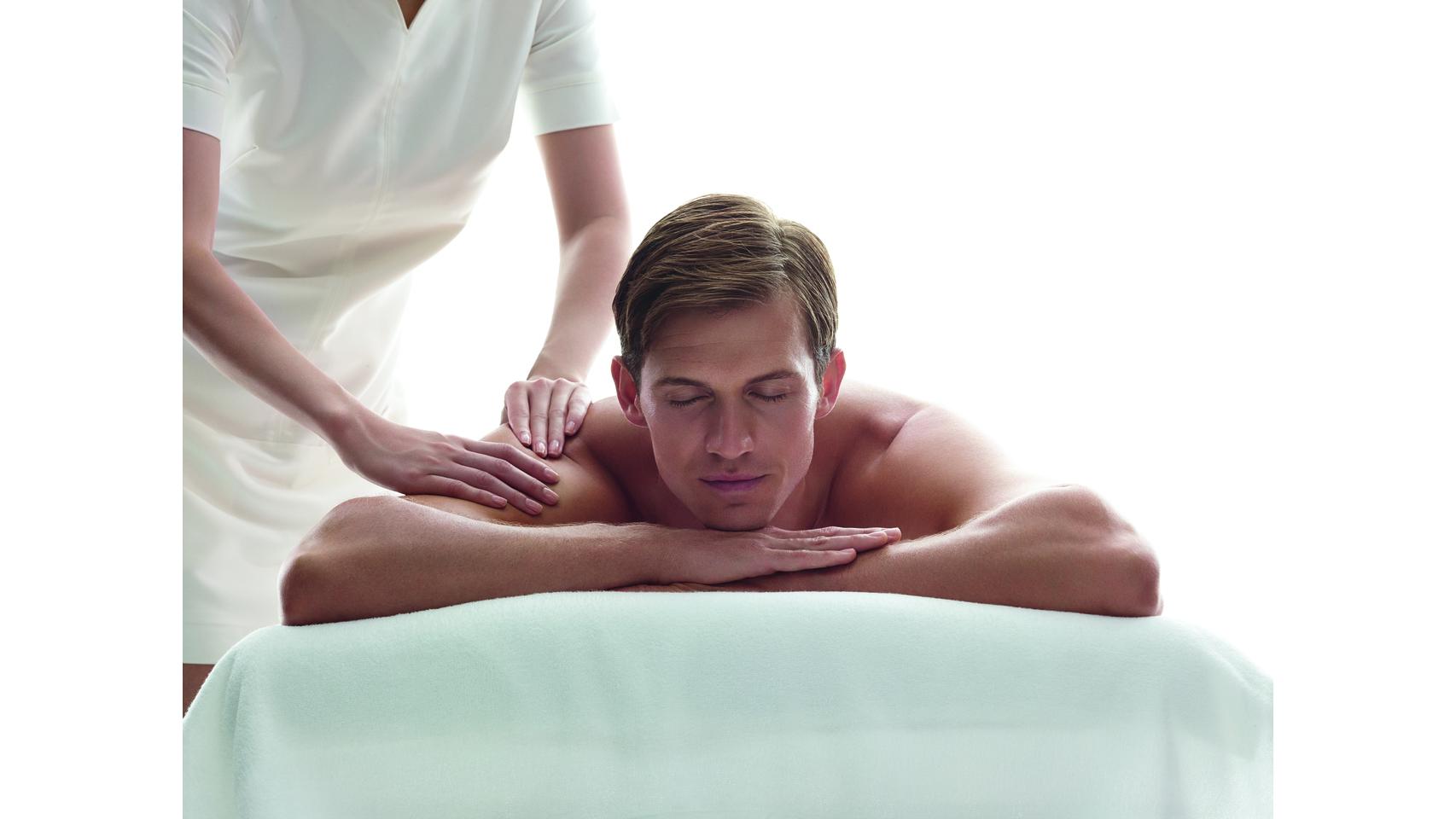 Sesión de masajes para un desquite de estrés y tensiones.