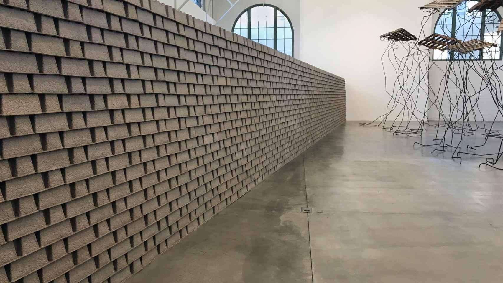 El muro de Louis Hock.