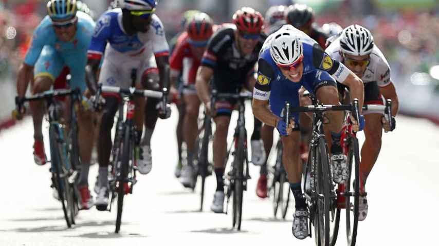 Meersman se impuso al sprint en la etapa que finalizó en Lugo.