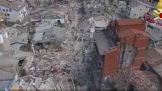 Los vídeos del terremoto en Italia