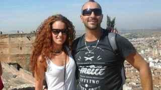 Ana Huete y su pareja en una imagen de Facebook