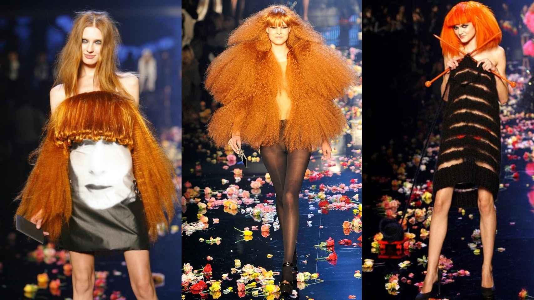 Desfile homenaje a la diseñadora, en 2009, por su 40 años de moda.