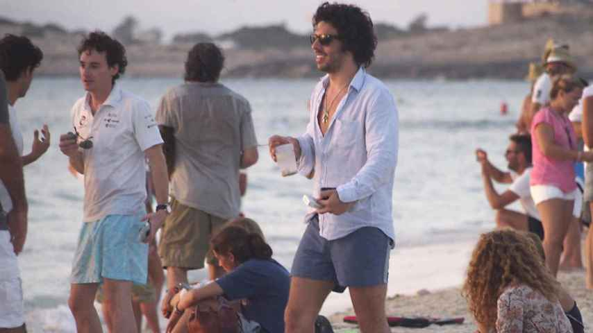 Alonso Aznar en el festival de Coachella.