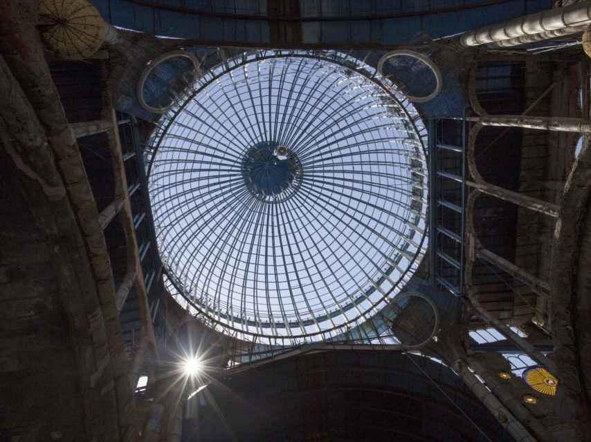 Las cúpulas están situadas a 35 metros de altura.