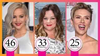 Ranquímetro: Estas son las actrices mejor pagadas del mundo