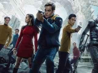 Imagen promocional de Star Trek: Más allá (2016).