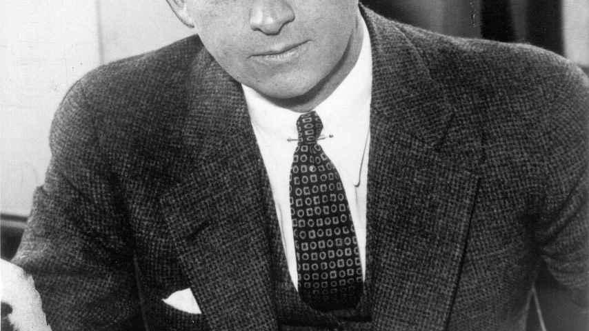 Eliot Ness, el implacable policía que encarceló a Al Capone.