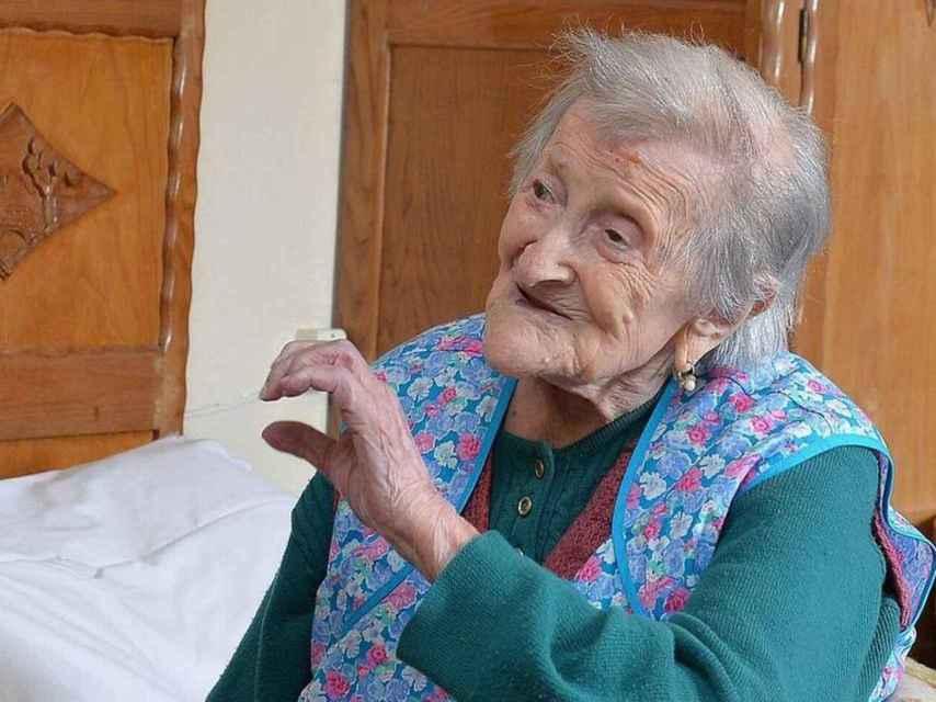 Emma Morano, la mujer más longeva del mundo.