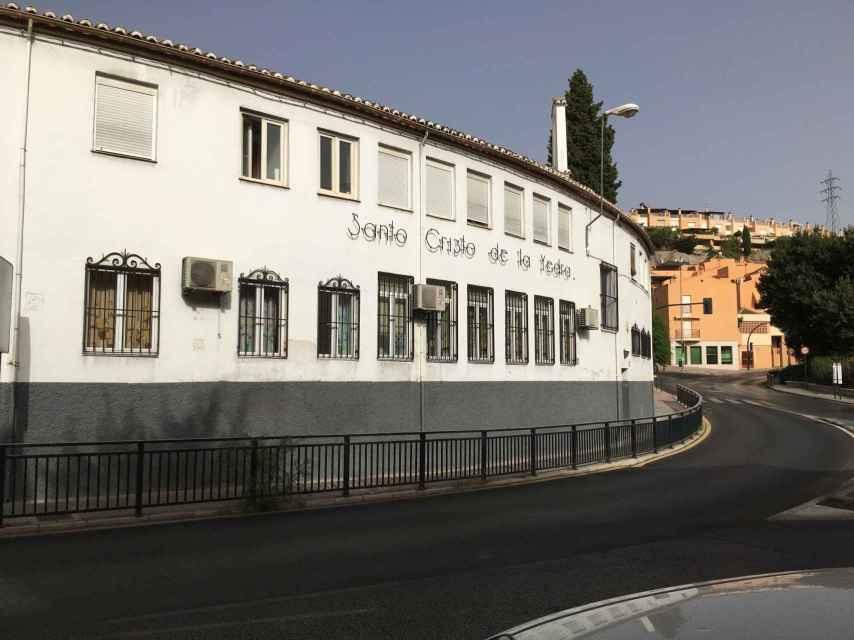 El colegio donde estudió Ana Huete en el barrio del Albaicín (Granada).