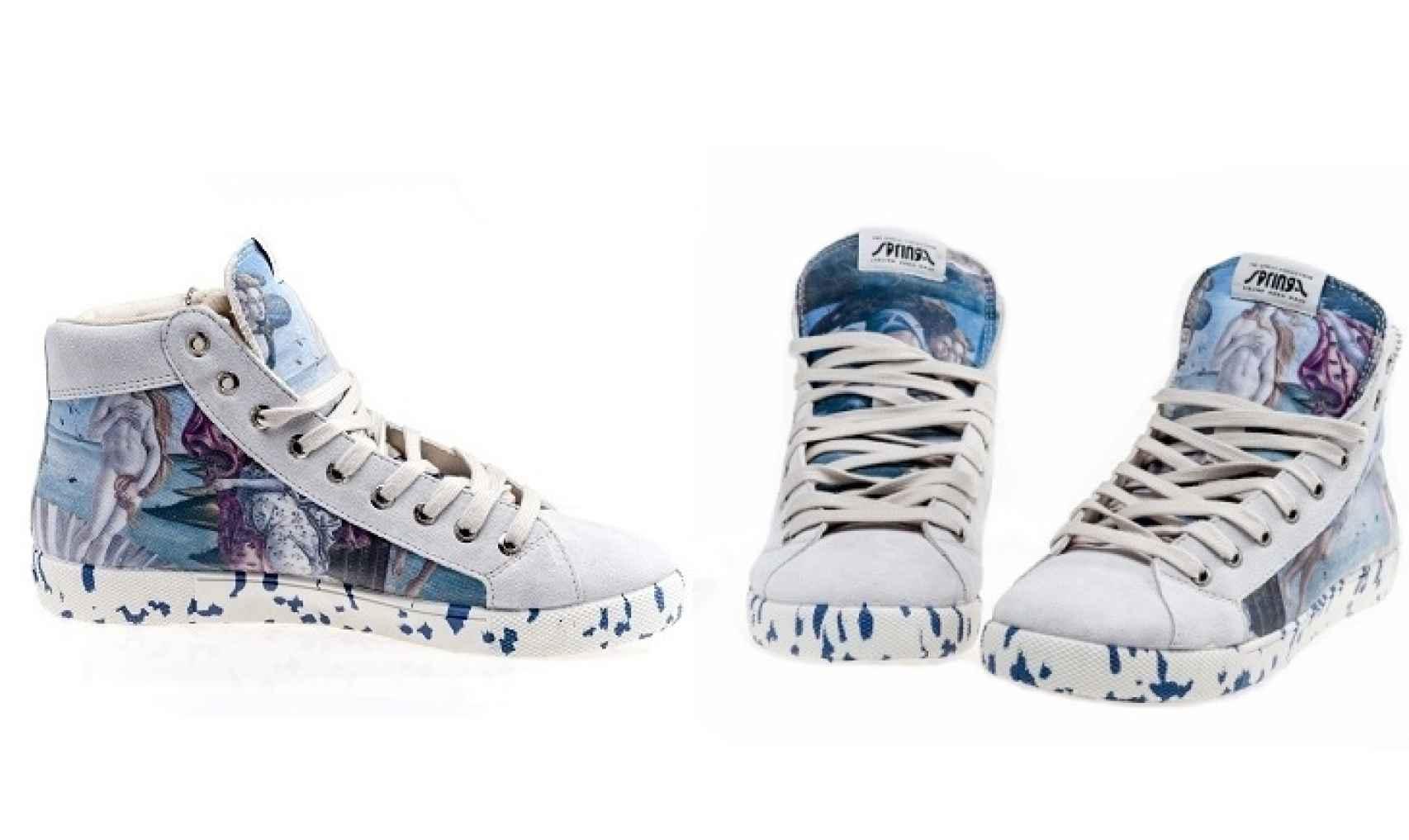 Por 115 euros estas zapatillas de diosa son tuyas. En los Uffizi.