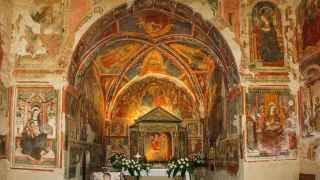 El interior del Santuario Icono Passatora.