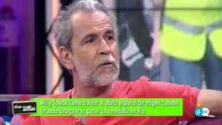 Willy Toledo, en Telecinco.