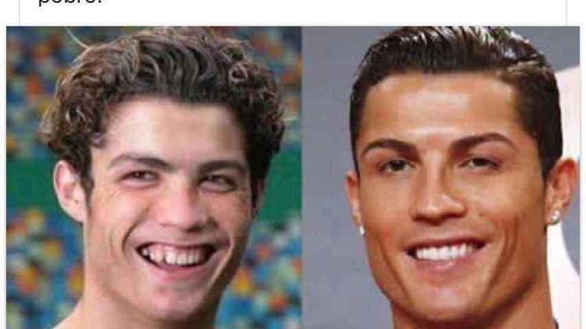 Cristiano Ronaldo ha sufrido un antes y después estético bastante radical.