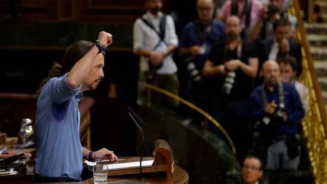 Iglesias, durante su intervención este miércoles.