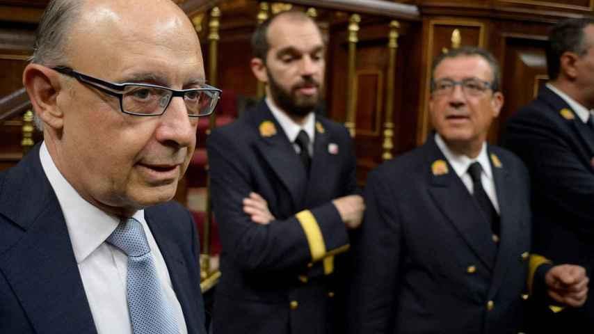 El ministro de Hacienda en funciones, Cristóbal Montoro.