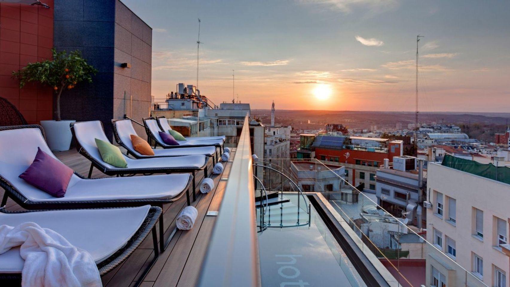 Panorámica desde el Gato Canalla Sky Lounge del Hotel Indigo.