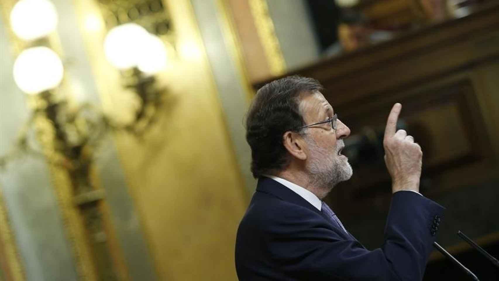 El presidente del Gobierno en funciones, Mariano Rajoy/Mariscal/EFE