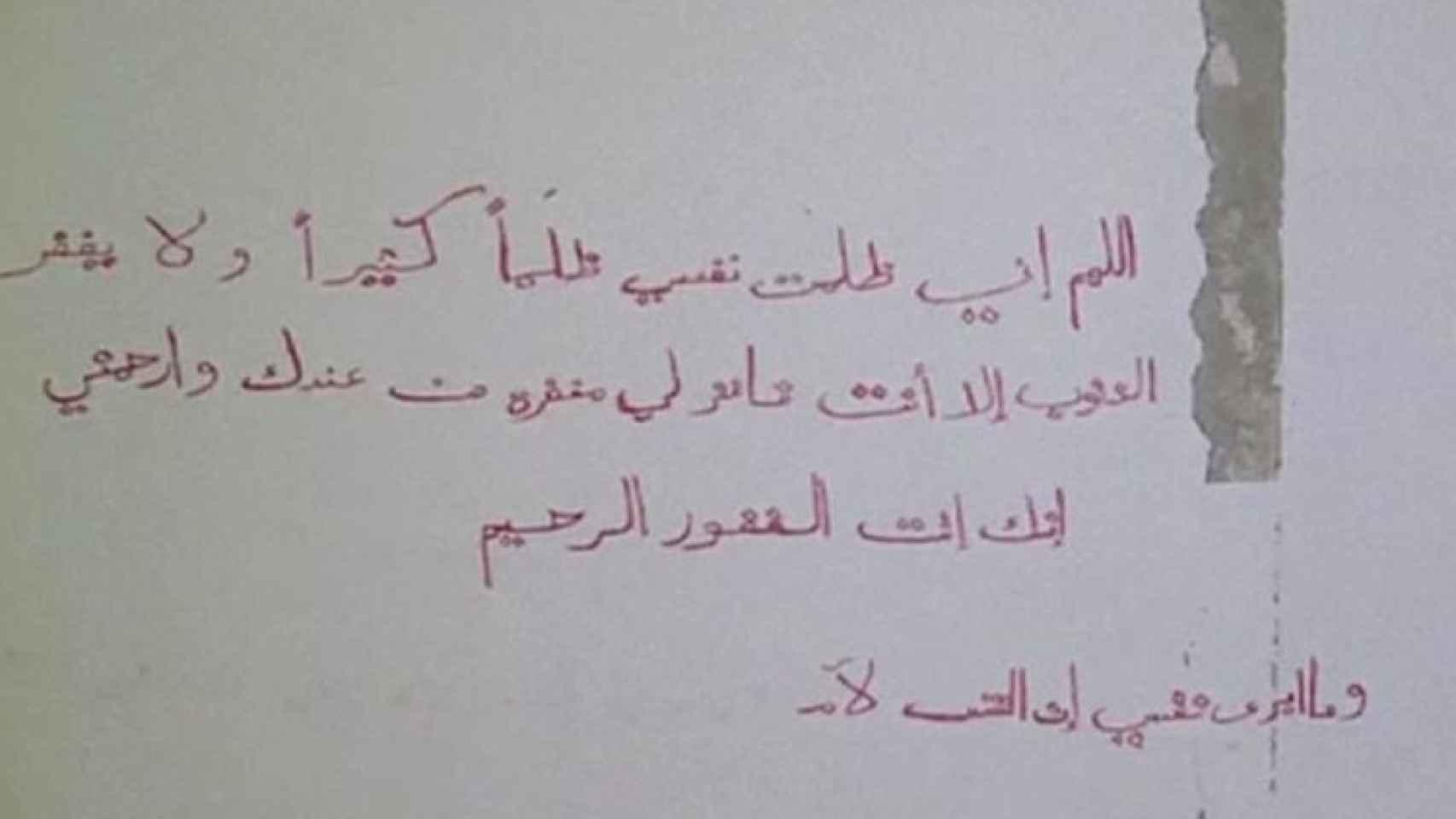 Imagen del vídeo difundido por Arab24