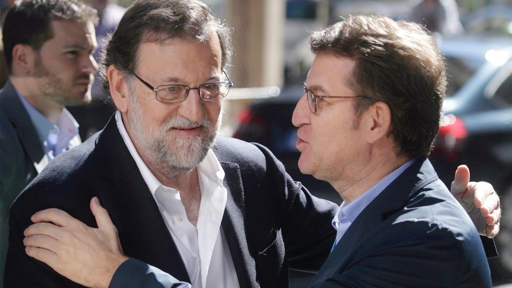 Feijóo lleva años sonando como el recambio de Rajoy en Madrid