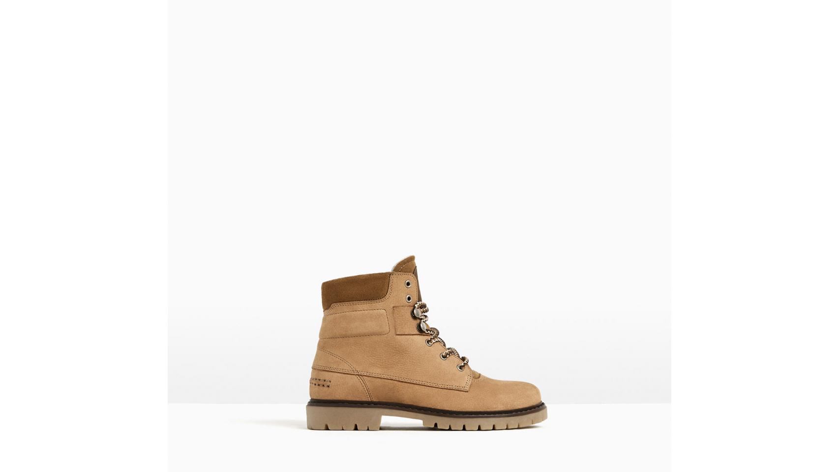 Botas para chico de la marca Zara, 39,95 euros.