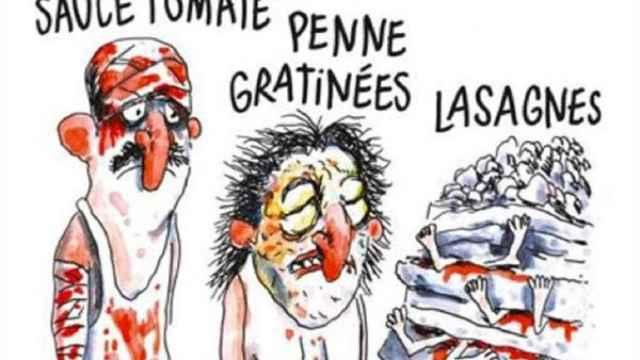 Viñeta del semanario francés Charlie Hebdo.
