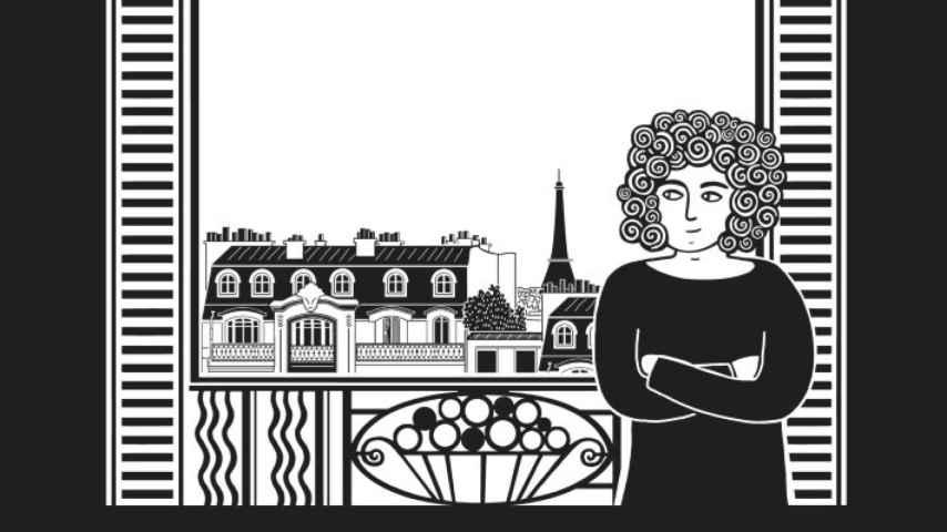 Un fragmento del cómic El piano oriental, de Zeina Abirached.