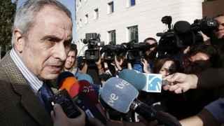 El abogado de la joven madrileña que denunció haber sido violada en Pamplona durante los pasados Sanfermines, Carlos Bacaicoa.