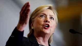 La candidata del partido demócrata a la presidencia de EEUU, Hillary Clinton.