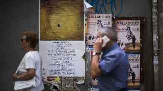 Cartel del homenaje a Víctor Barrio en Valladolid.