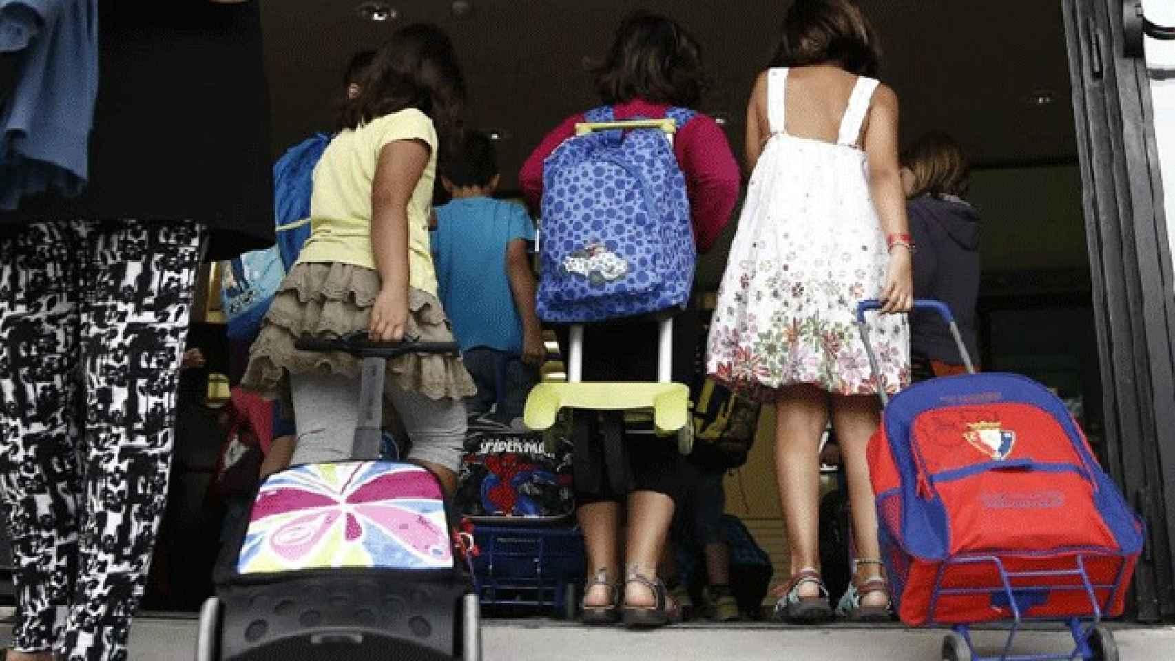 Más de ocho millones de alumnos llenarán las aulas a partir de día 7