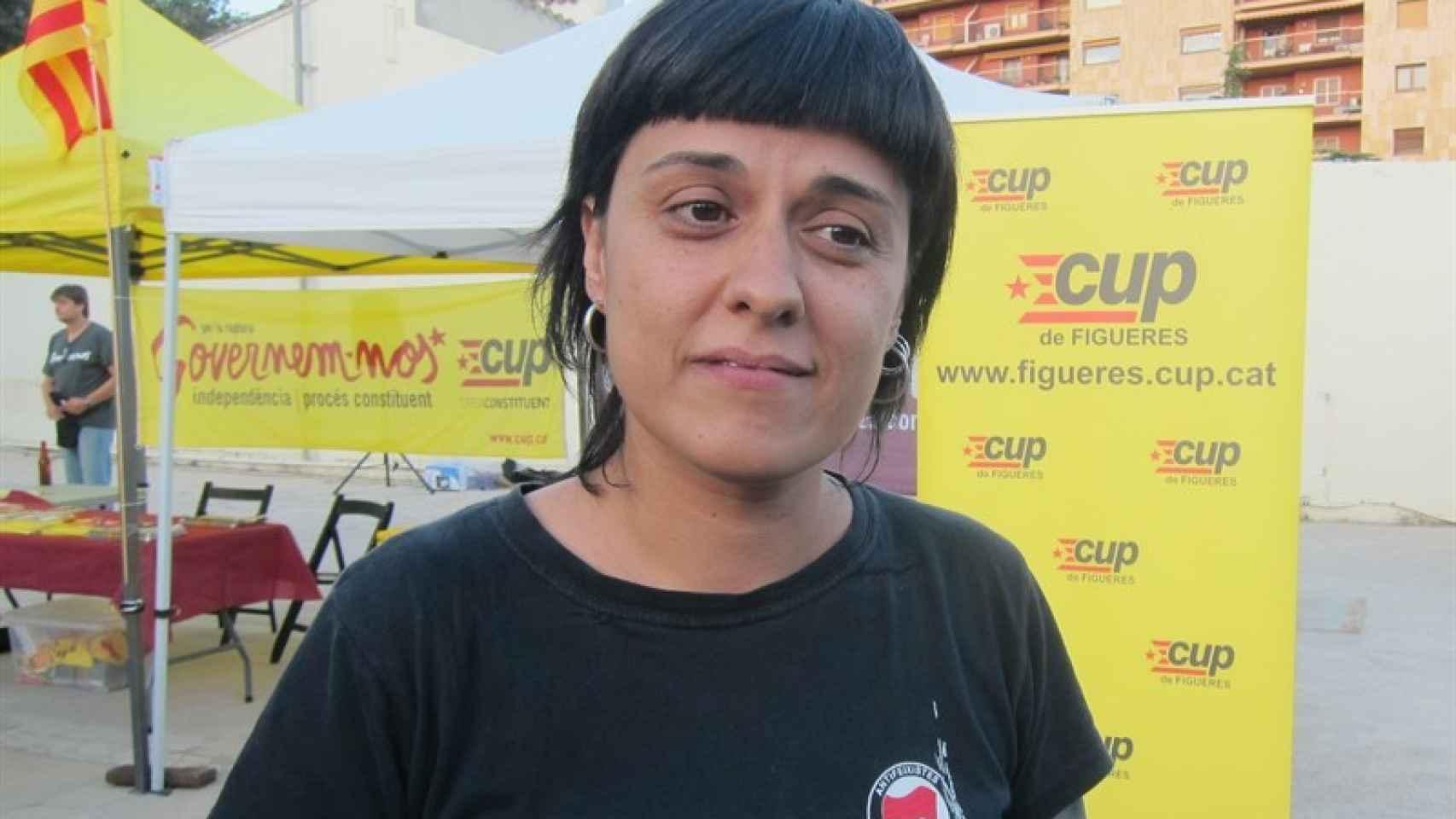 La portavoz de la CUP en el Parlament, Anna Gabriel