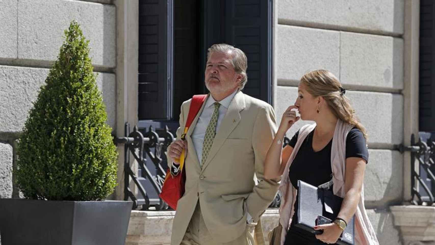 El ministro de Educación en funciones, Íñigo Méndez de Vigo