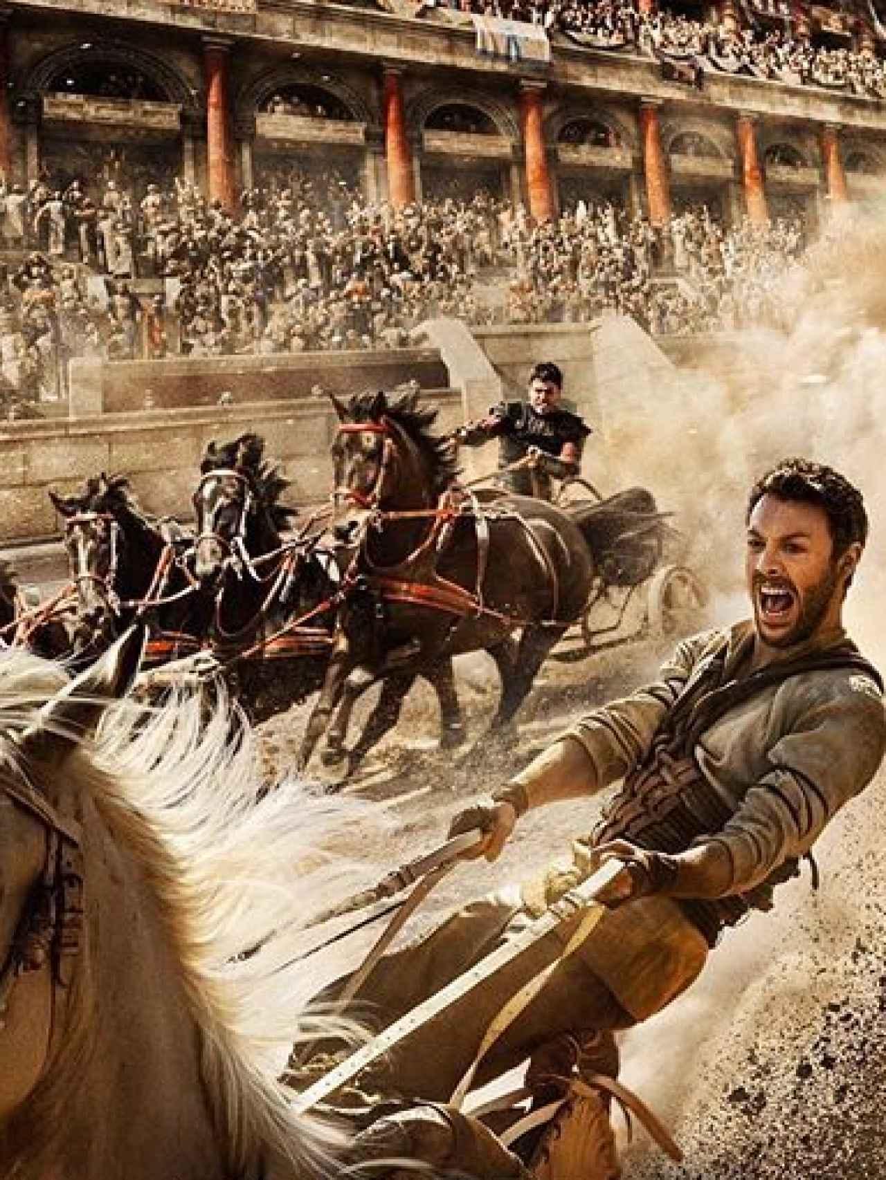 En el papel de Judah Ben-Hur