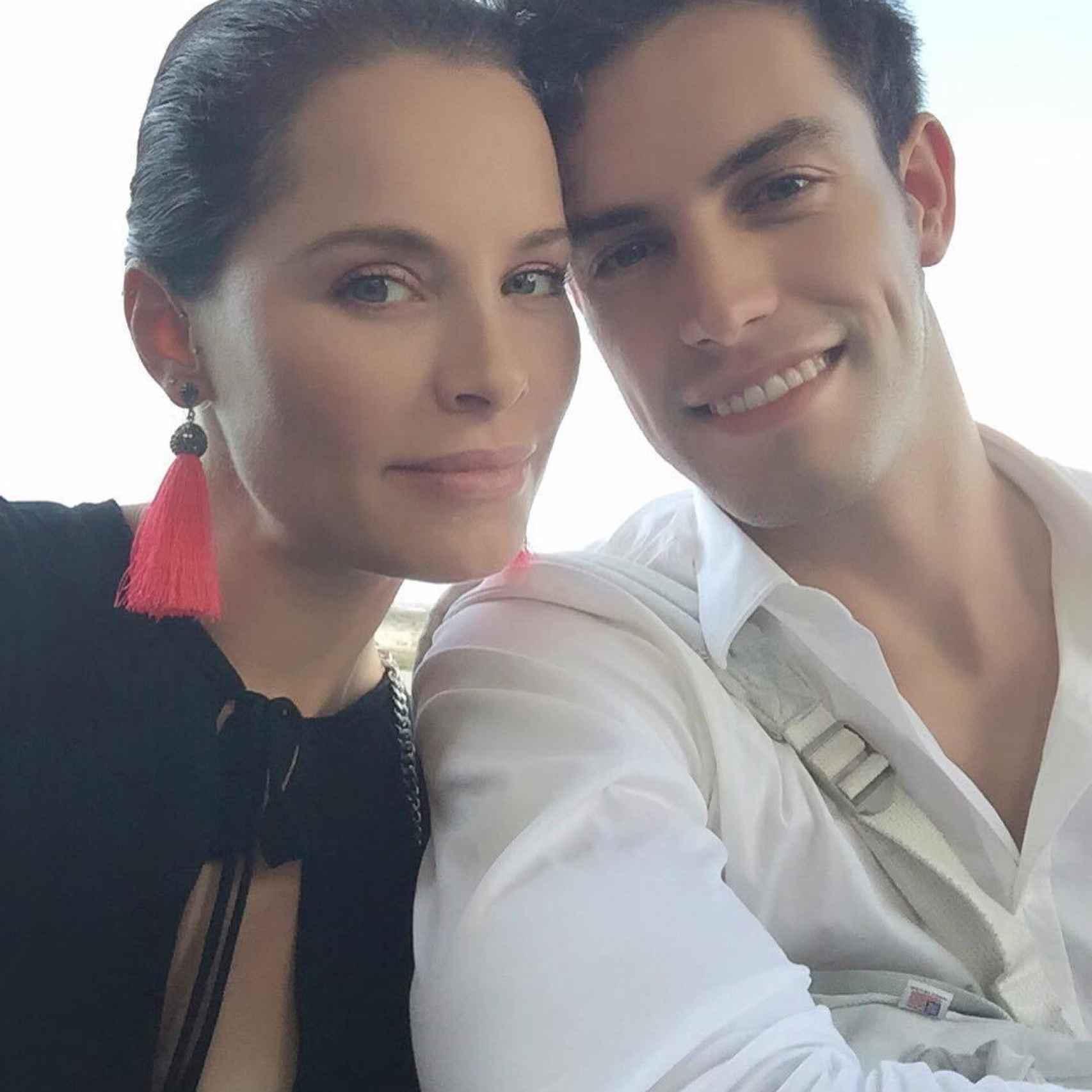 Soraya y su novio Miguel Ángel