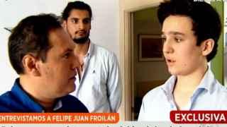 Así ha sido la primera entrevista en televisión de Felipe Juan Froilán