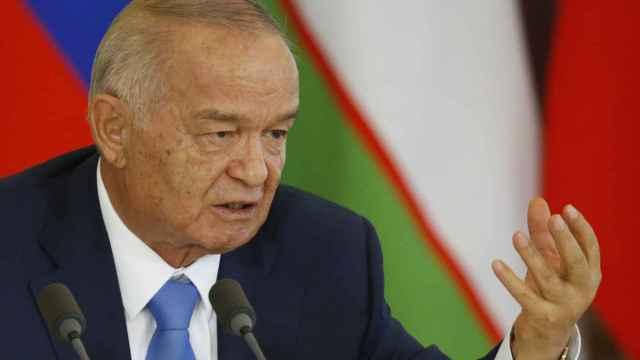 Islam Karimov, presidente de Uzbekistán