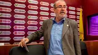 Laureano González, presidente de la Federación Venezolana de Fútbol.