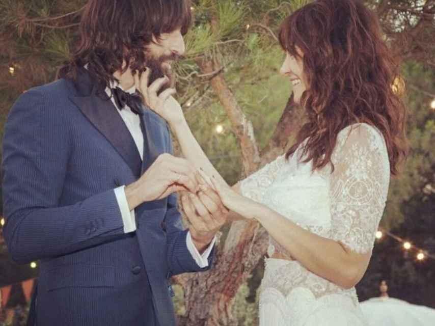 Imagen de la boda de Melani y Gorka.
