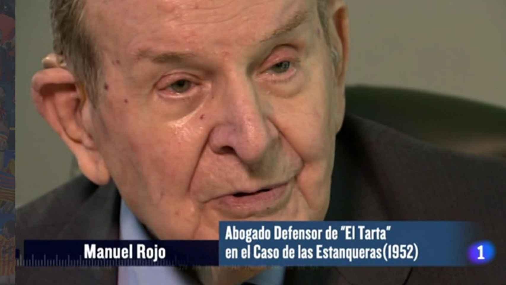 Manuel Rojo fue el abogado defensor de El Tarta.