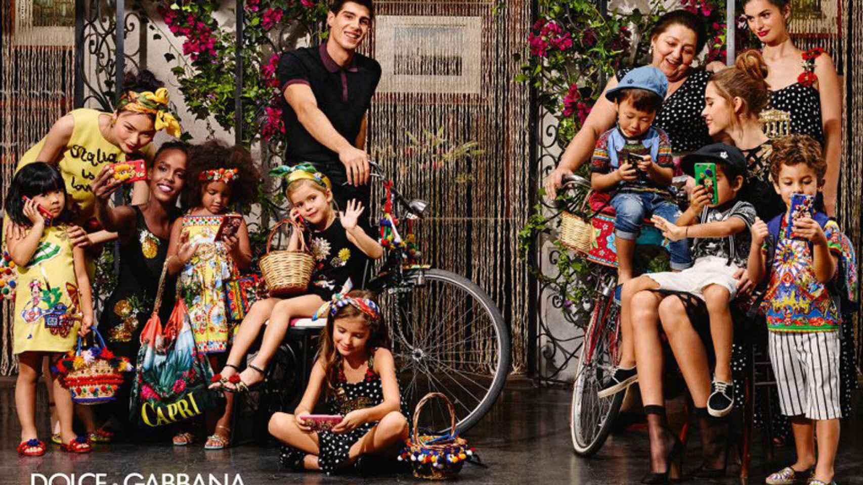 Campaña primavera-verano 2016 de Dolce Gabbana.