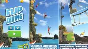 Flip Diving, el juego de saltos al agua que está arrasando en todas partes