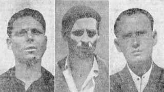 Los tres inocentes que fueron ejecutados acusados de asesinar a dos mujeres.