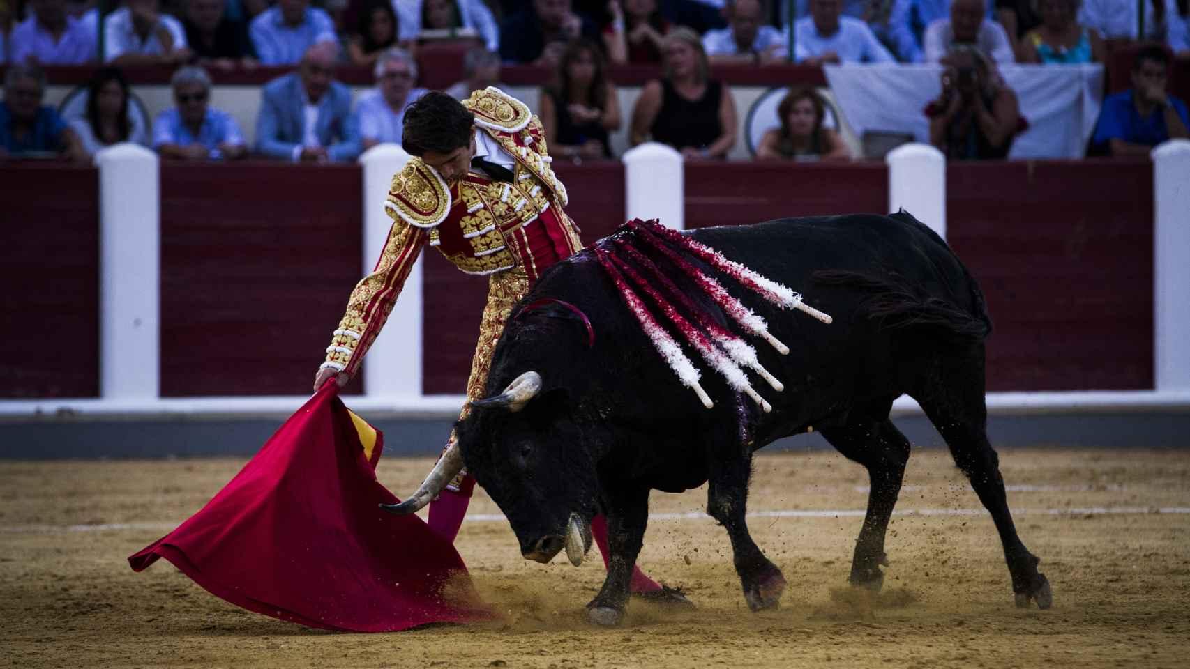 Castella durante la segunda de feria de Valladolid.