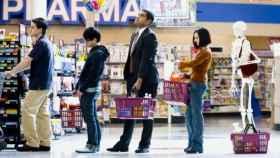 cola-supermercado