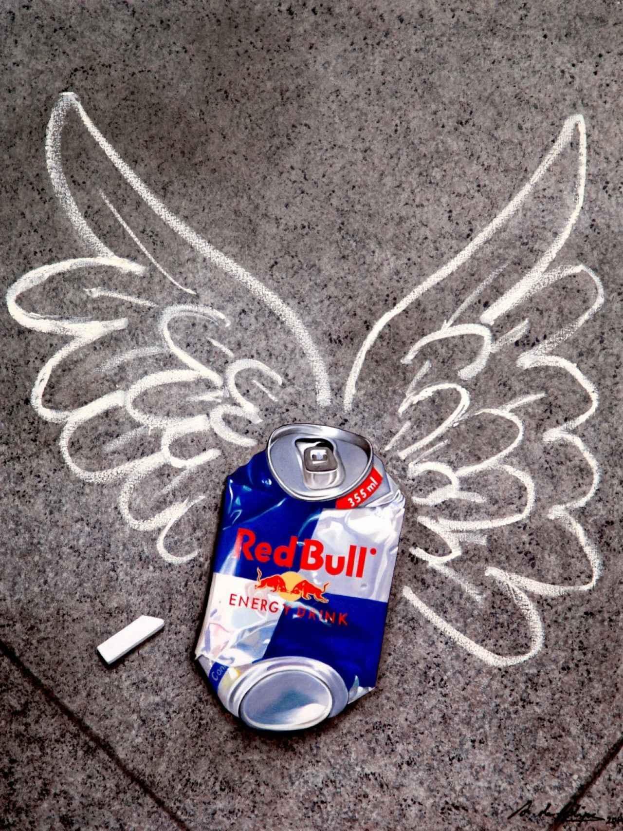 Red Bull te da alas. Web de Antonio de Felipe.