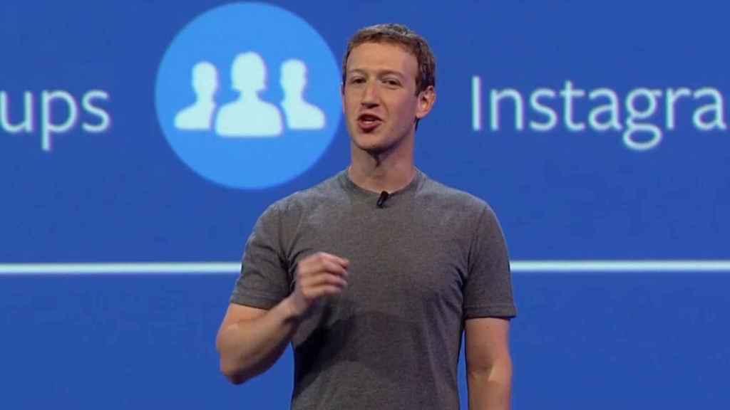 Marck Zuckerberg, CEO de Facebook.