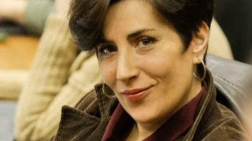 María Solana, nueva portavoz de Uxue Barkos.