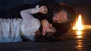 El tenor Gregory Kunde (Otello) y la soprano Ermonela Jaho (Desdemona)